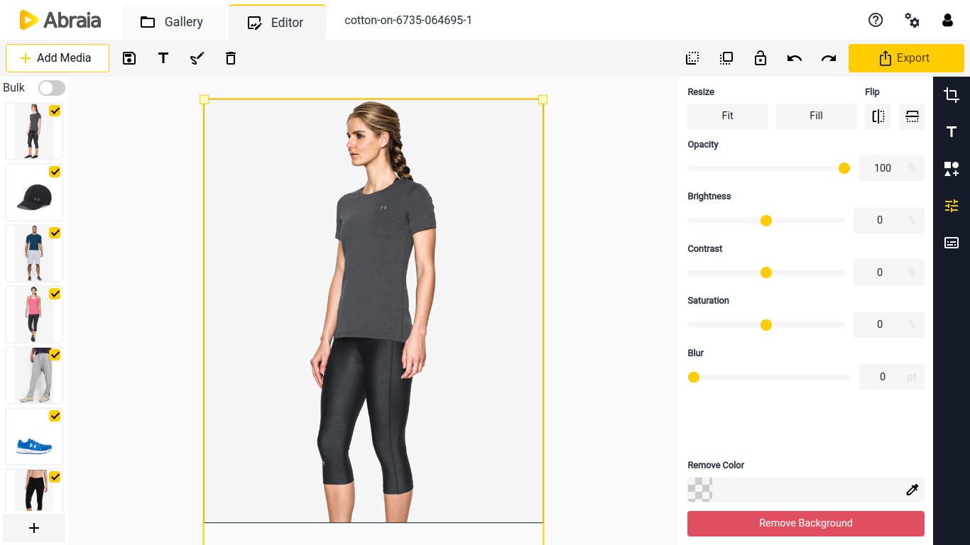 crop multiple images